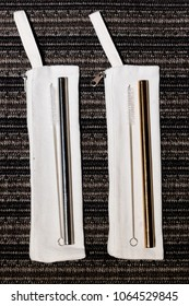 Milk Tea Reusable Metal Straw
