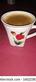 Milk Tea wth rose Mug