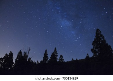 Milk Way in the Pinos de Gáldar