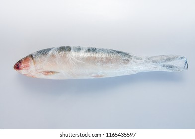 Milkfish processed food in the Philippines and Thailand,Raw milkfish isolated on white background