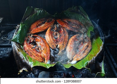 milkfish served with burning using coals, certainly has a distinctive taste