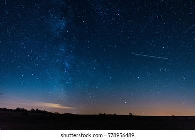Milkiway and Stars