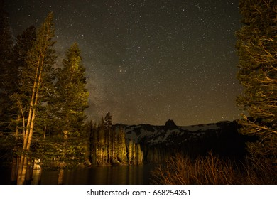 Milky Way above Mammoth Lakes