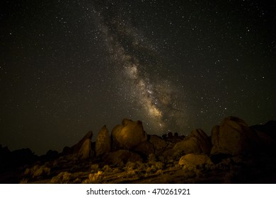 Milky Way, Alabama Hills, CA