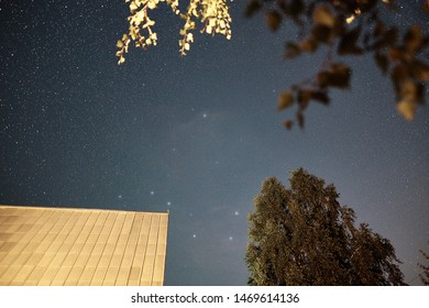 Milky Way. Astrophotography. Night sky