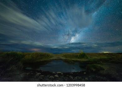 Milky way in Atacama desert