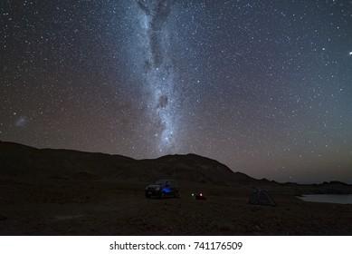 Milky way, Atacama desert.