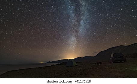 Milky way, Atacama desert