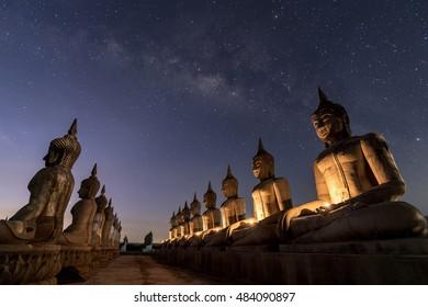 The Milky Way with Buddha