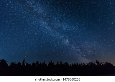 Milky Way caught in the Eiffel National Park in Germany - Shutterstock ID 1478860253