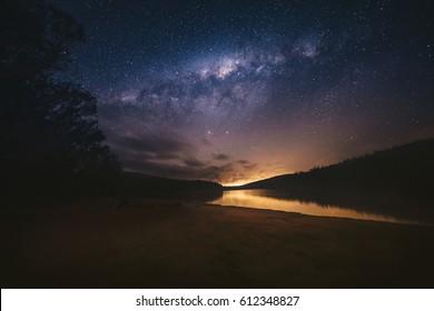 Milky Way at Collie, Western Australia