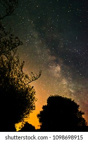 Milky Way and Countryside