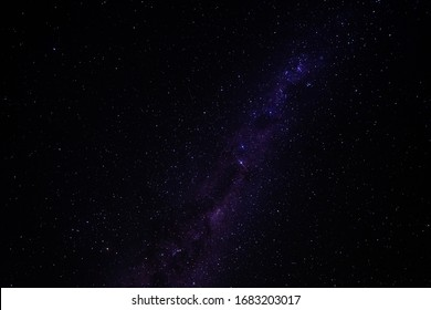 the milky way in dark skies