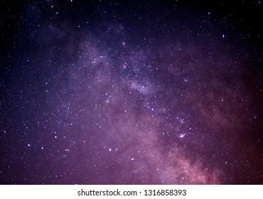 Milky Way Galaxy Astrophotography taken in Dubai, United Arab Emirates