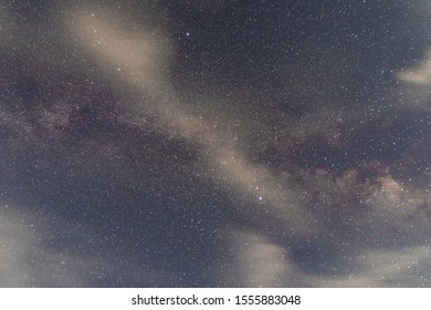 The Milky Way Galaxy from Chico, California