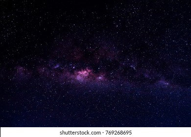 Milky Way Galaxy as seen from the Serengeti, Tanzania, Africa