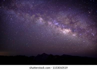 Milky way and the horizon
