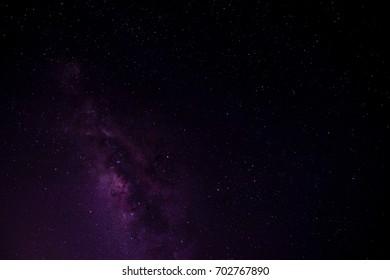 The Milky Way in Night Sky