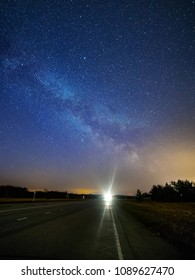 Milky Way on the road