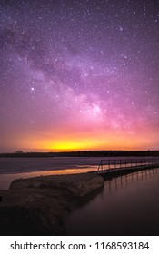 Milky way out of te city