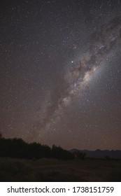Milky way over atacama desert