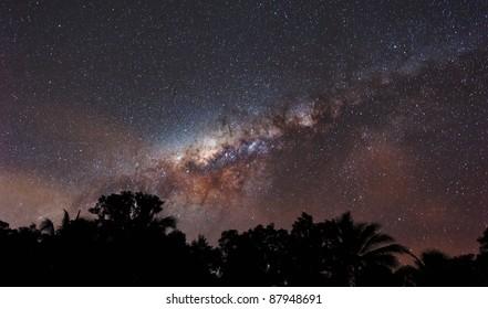 Milky Way over Cairns