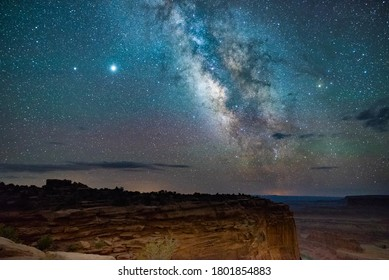 Milky Way Over Canyonlands National Park