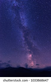 Milky way over Rondane national park
