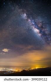 Milky Way at Phu Tub Berk, Phetchabun, Thailand.
