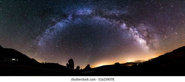 Milky Way at the Pyrenees