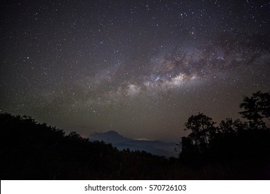 Milky Way rise from Telipok Hill, Sabah, Malaysia