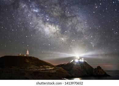 Milky Way in South of Spain