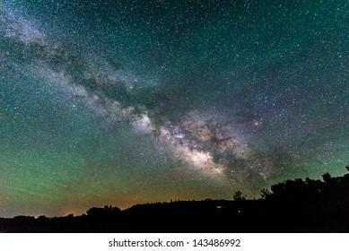 Milky Way in Southern Colorado
