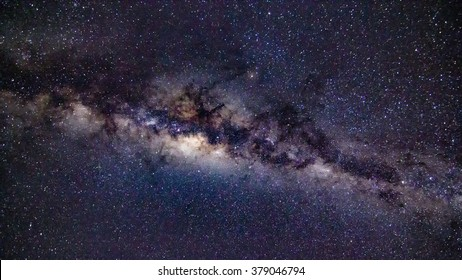 Milky Way in the Southern Hemisphere, with grain