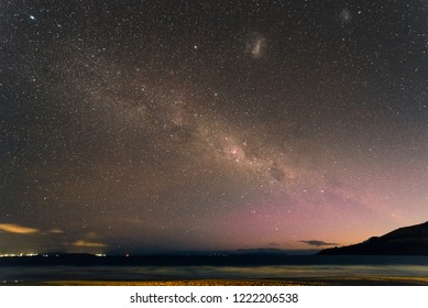 Milky Way and Southern Light