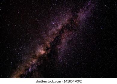Milky way star galaxy night