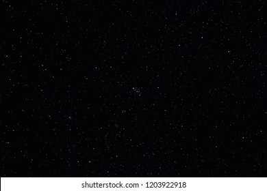 Milky Way stars photographed with astronomical telescope. My astronomy work.
