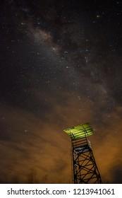 Milky way at Warung Creater