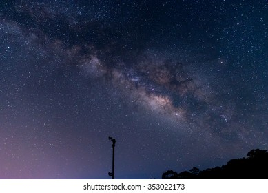 Milky way Yakushima