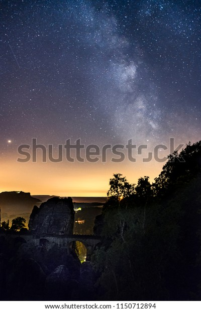 Milkyway ath the Bastei in Dresden, Germany