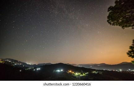Milkyway in Bageswar, Uttrakhand, India