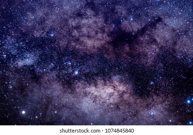 Milkyway Galaxy in the night sky