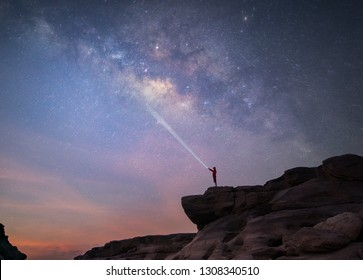 Milkyway grand canyon in Thailand