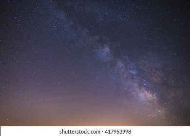 milkyway in starry night