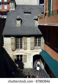 the mill Boly building where she lived initial Bernadette Soubirous in Lourds, France