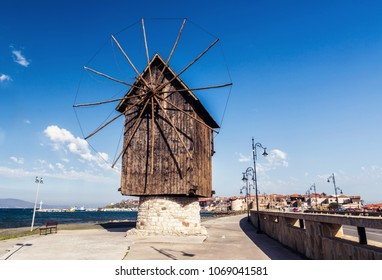 Mill in Nessebar, Bulgaria