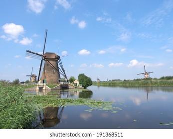 Mill Network at Kinderdijk-Elshout - Netherlands