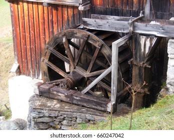 Mill, Sarreyer, Valais, Switzerland
