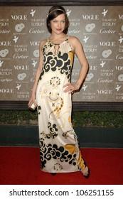 Milla Jovovich  at the 2nd Annual Art of Elysium Black Tie Charity Gala 'Heaven'. The Vibiana, Los Angeles, CA. 01-10-09