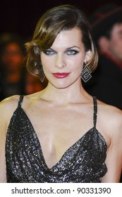 Milla Jovovich arriving for the UK Premiere of The Three Musketeers, at Westfield, London. 04/10/2011 Picture by: Steve Vas / Featureflash